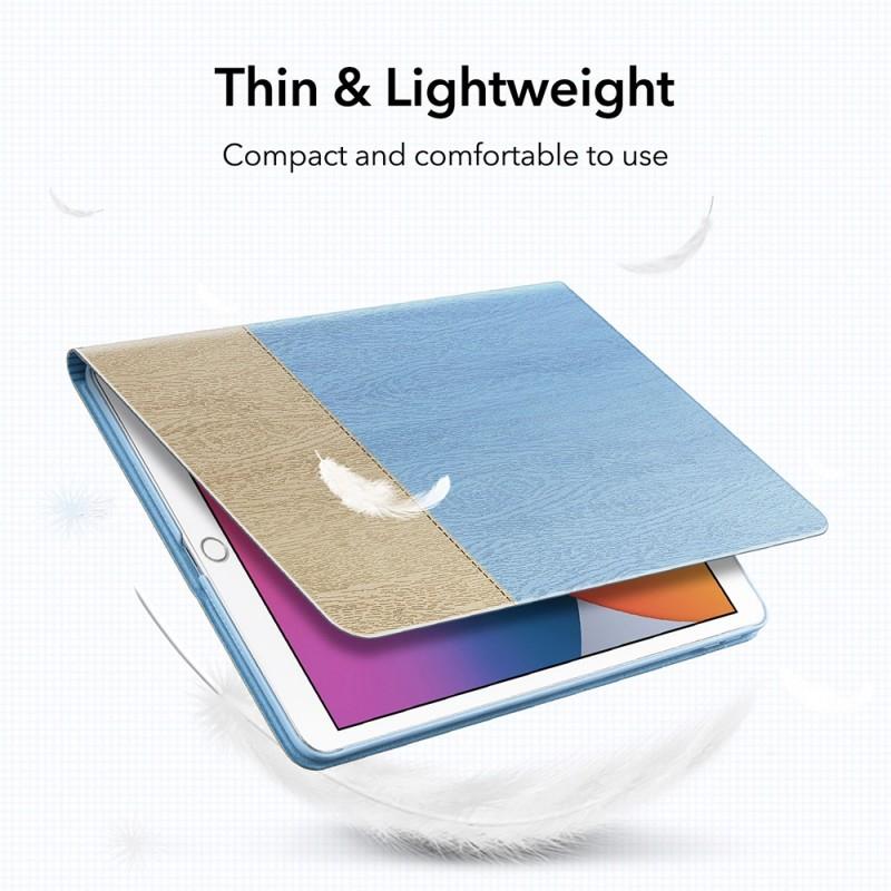 ESR Urban Premium Folio iPad 10.2 (2020 / 2019) Grijs - 5