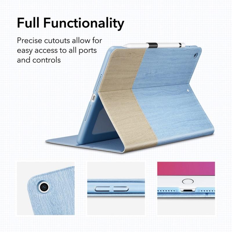 ESR Urban Premium Folio iPad 10.2 (2020 / 2019) Grijs - 8