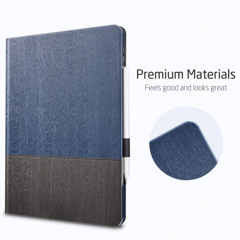 ESR Premium Folio iPad Pro 12.9 inch (2020) Donkerblauw - 4