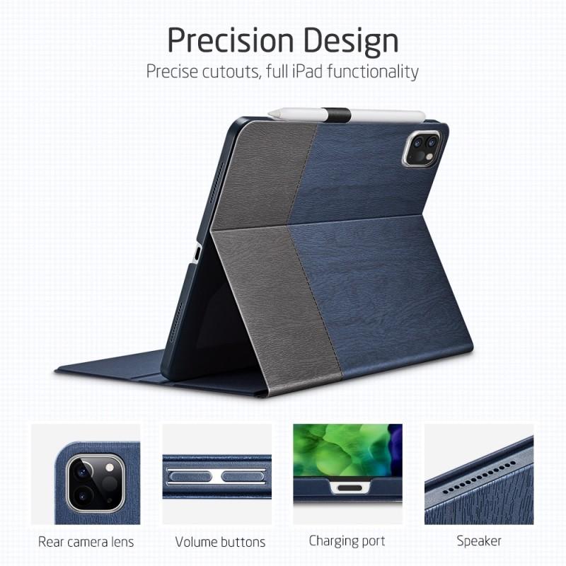 ESR Premium Folio iPad Pro 12.9 inch (2020) Donkerblauw - 3