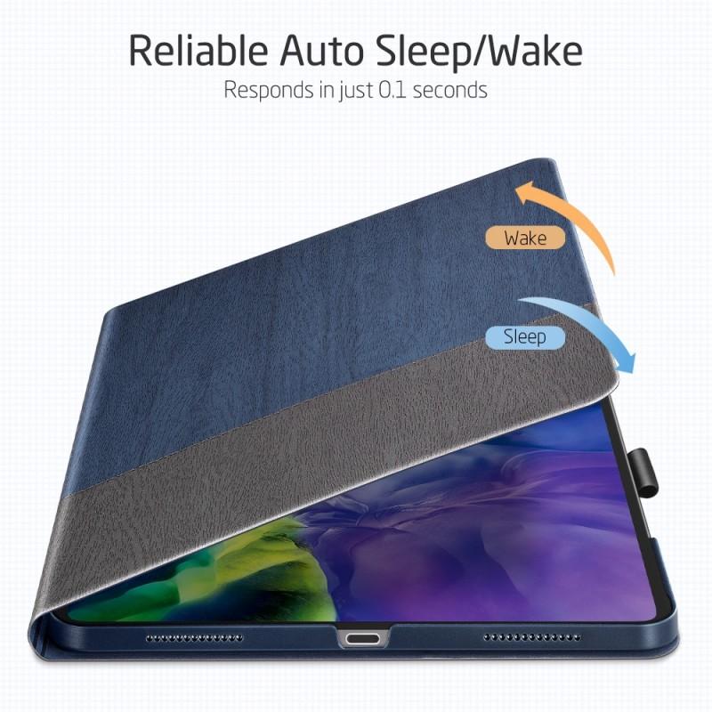 ESR Premium Folio iPad Pro 12.9 inch (2020) Donkerblauw - 6