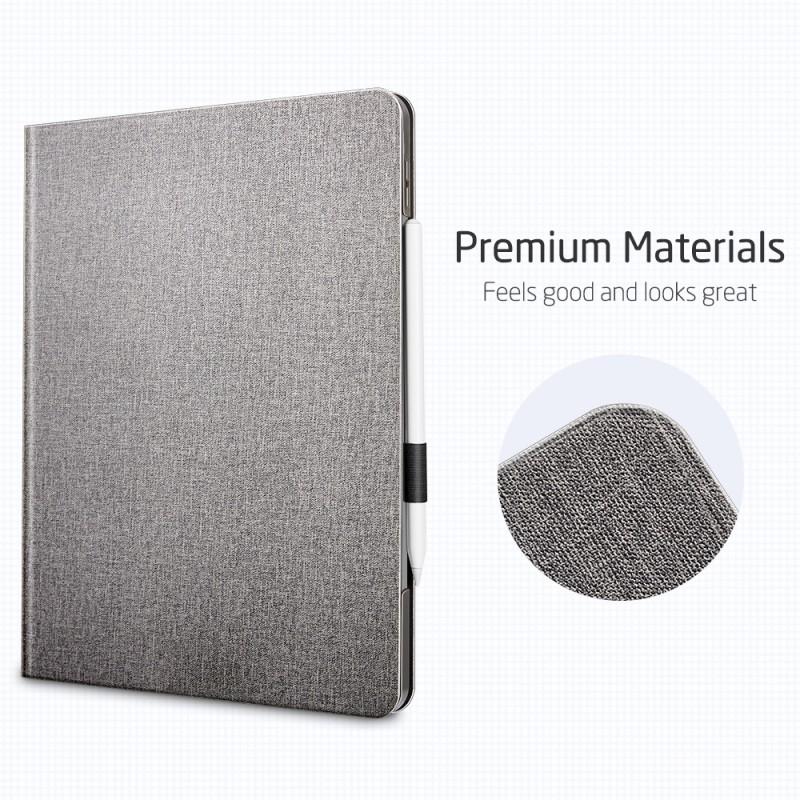ESR Premium Folio iPad Pro 12.9 inch (2020) Grijs - 3