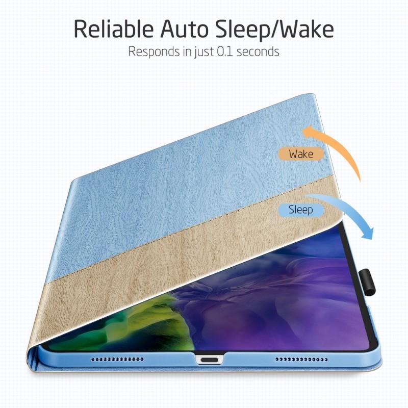 ESR Premium Folio iPad Pro 12.9 inch (2020) Lichtblauw - 5