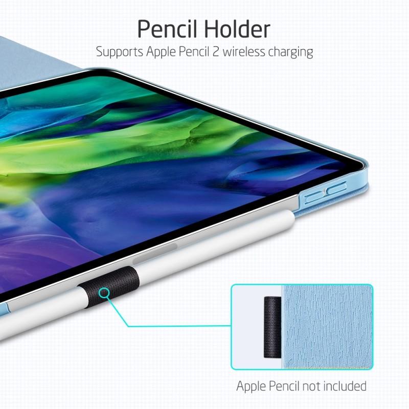 ESR Premium Folio iPad Pro 12.9 inch (2020) Lichtblauw - 7