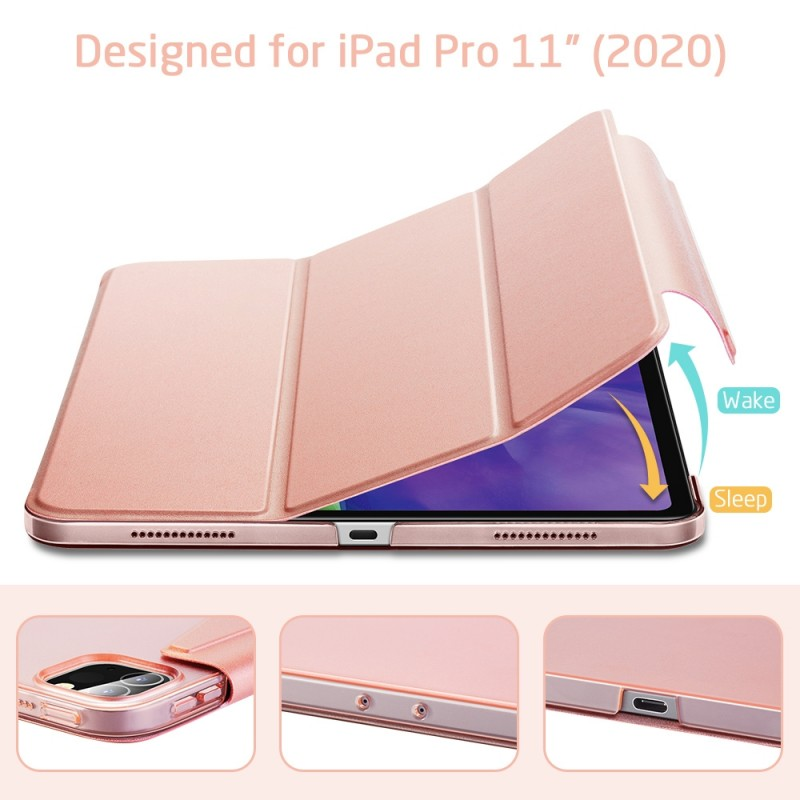 ESR Yippee Case iPad Pro 11 inch (2020) Roze - 5