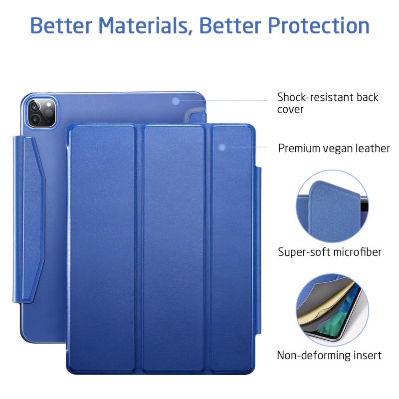 ESR Yippee Case iPad Pro 12.9 inch (2020) Blauw - 7