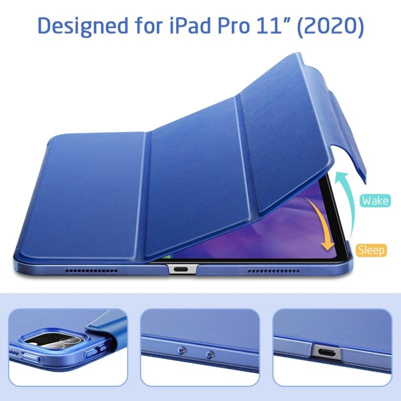 ESR Yippee Case iPad Pro 12.9 inch (2020) Blauw - 4