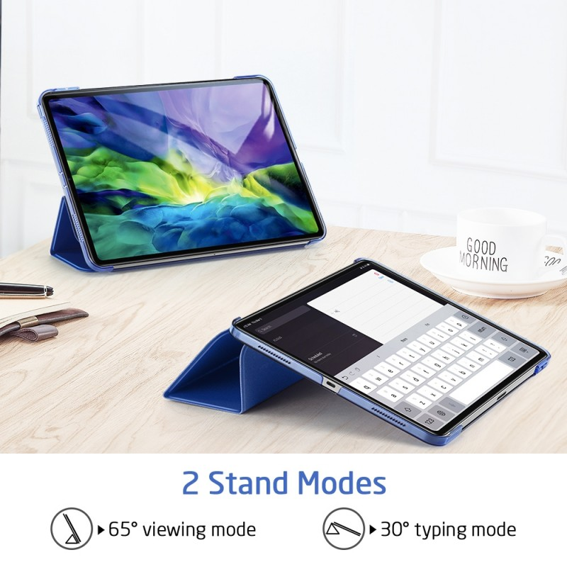 ESR Yippee Case iPad Pro 12.9 inch (2020) Blauw - 5