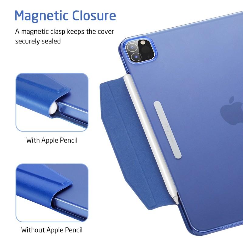 ESR Yippee Case iPad Pro 12.9 inch (2020) Blauw - 8