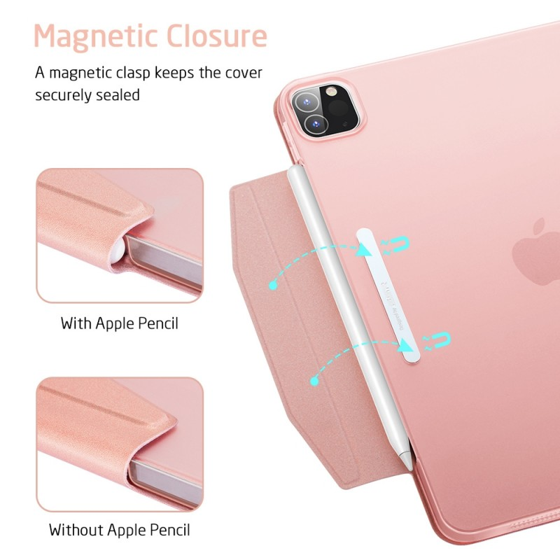 ESR Yippee Case iPad Pro 12.9 inch (2020) Roze - 7