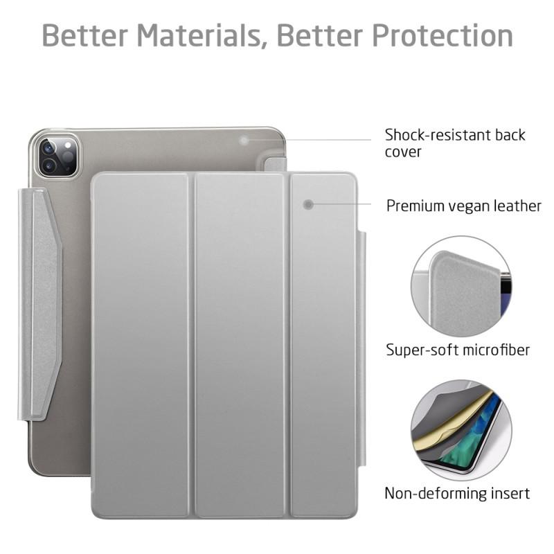 ESR Yippee Case iPad Pro 12.9 inch (2020) Zilver - 4
