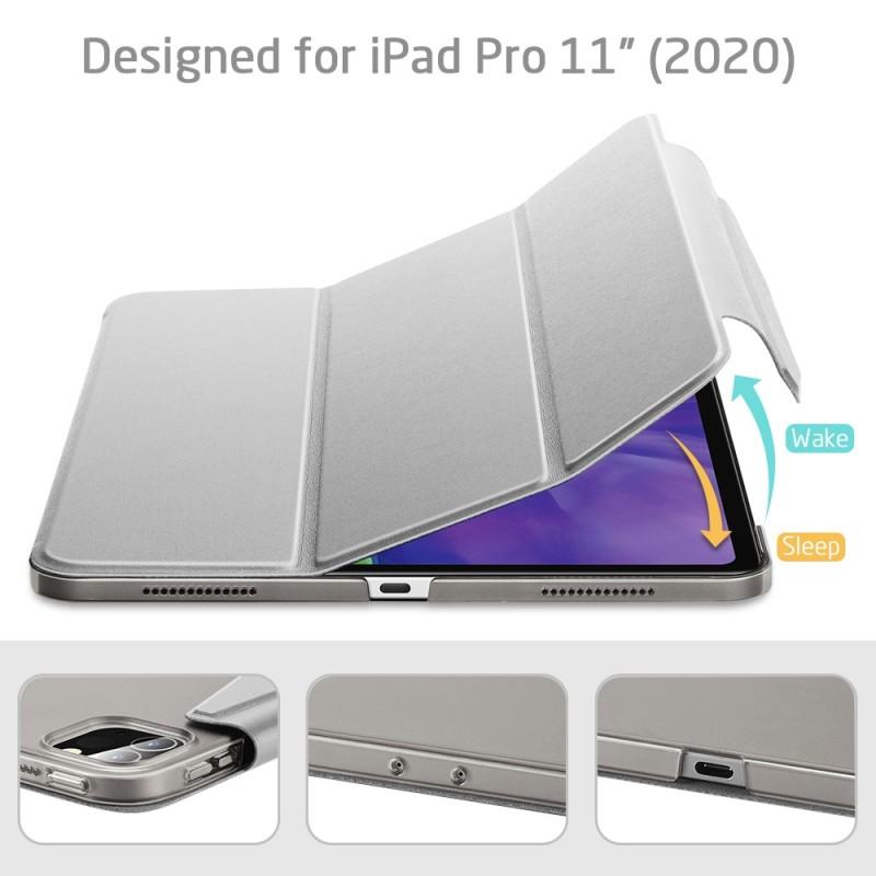 ESR Yippee Case iPad Pro 12.9 inch (2020) Zilver - 7
