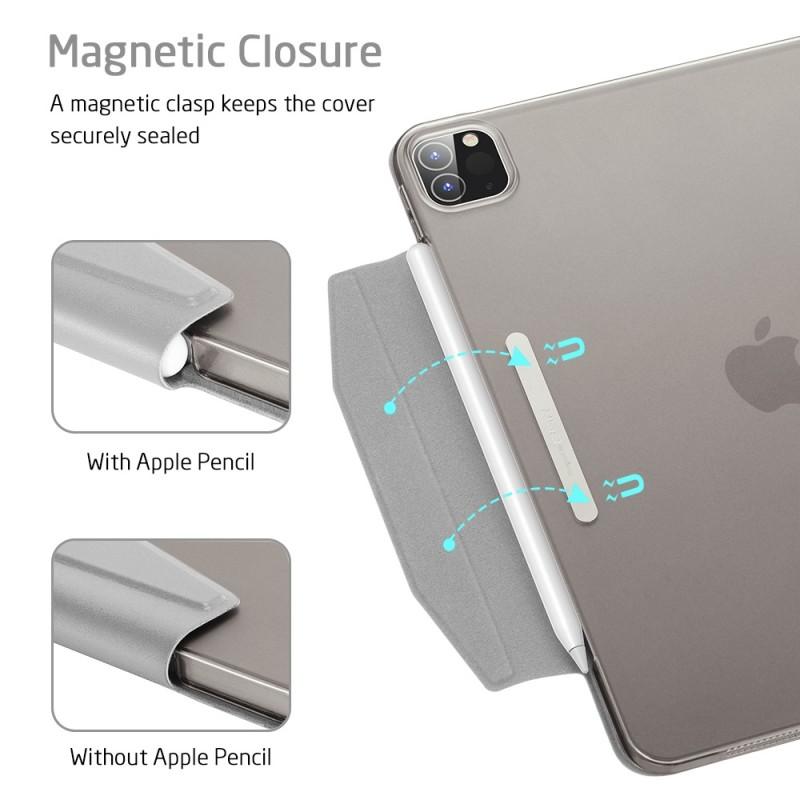 ESR Yippee Case iPad Pro 12.9 inch (2020) Zilver - 8
