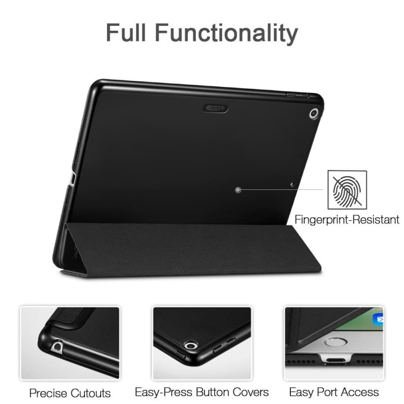 ESR Yippee Folio iPad mini (2019) Zwart - 3