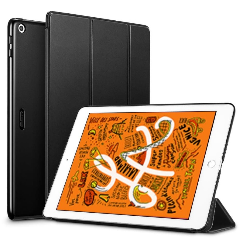 ESR Yippee Folio iPad mini (2019) Zwart - 1