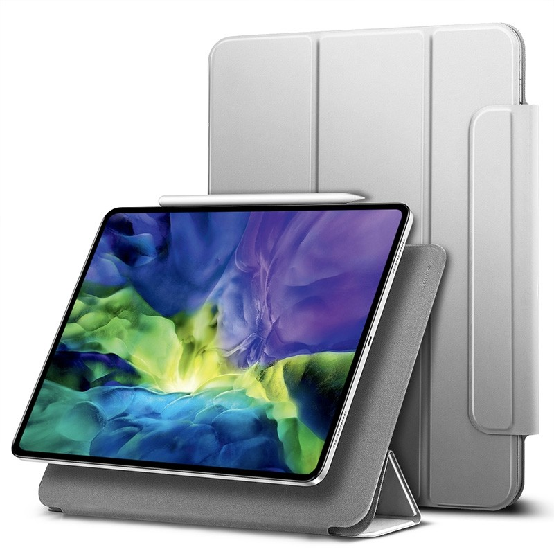 ESR Yippee Magnetic iPad Pro 11 inch 2020 hoes zilver - 1