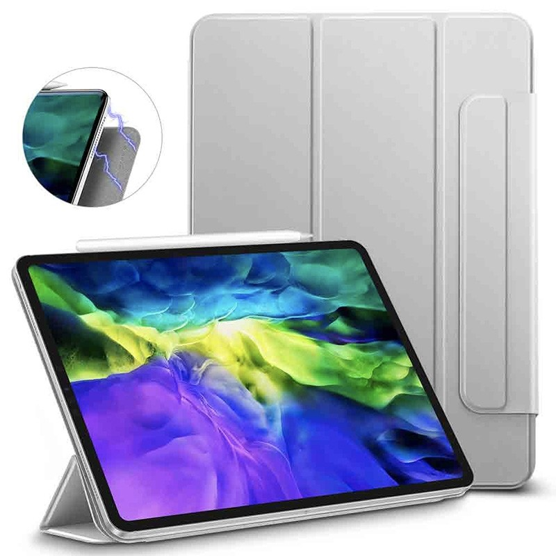 ESR Yippee Magnetic iPad Pro 11 inch 2020 hoes zilver - 2