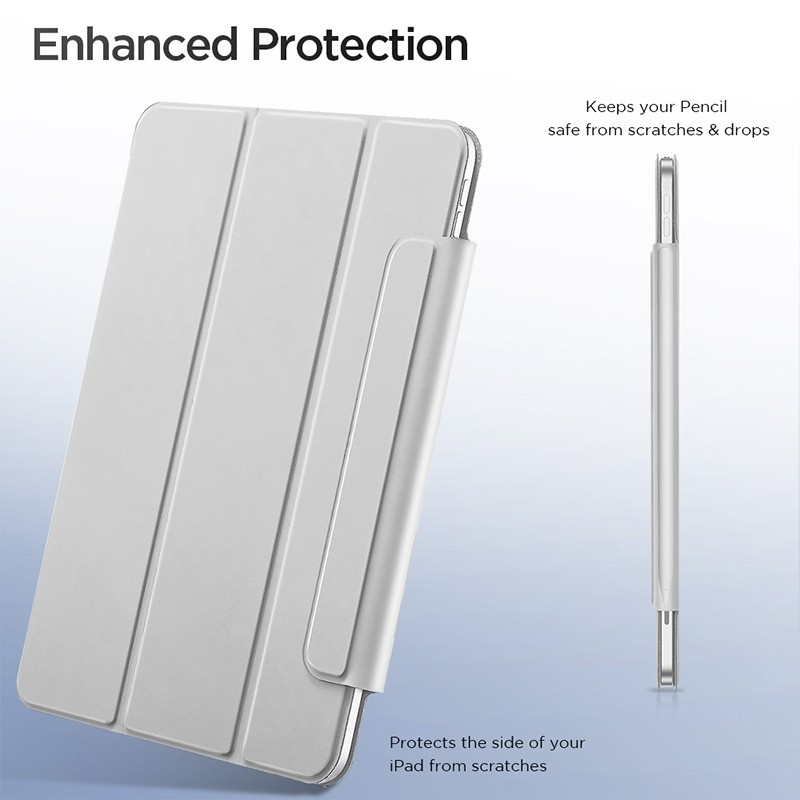 ESR Yippee Magnetic iPad Pro 11 inch 2020 hoes zilver - 5