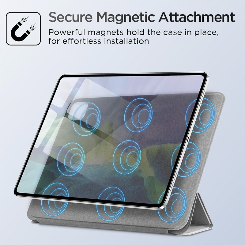 ESR Yippee Magnetic iPad Pro 11 inch 2020 hoes zilver - 8