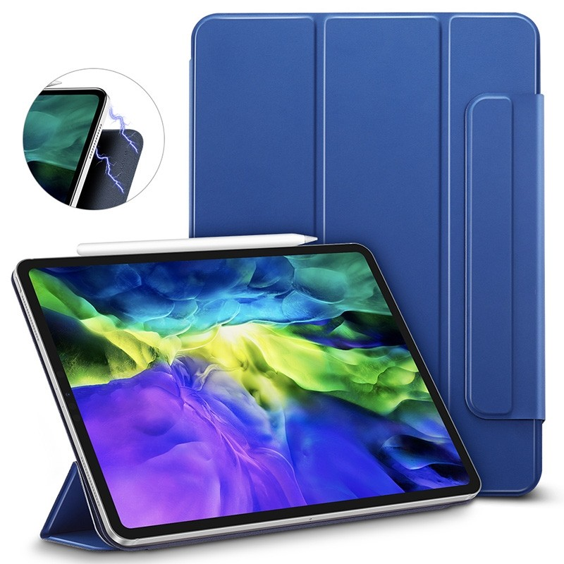 ESR Yippee Magnetic iPad Pro 12.9 inch (2020) blauw - 2