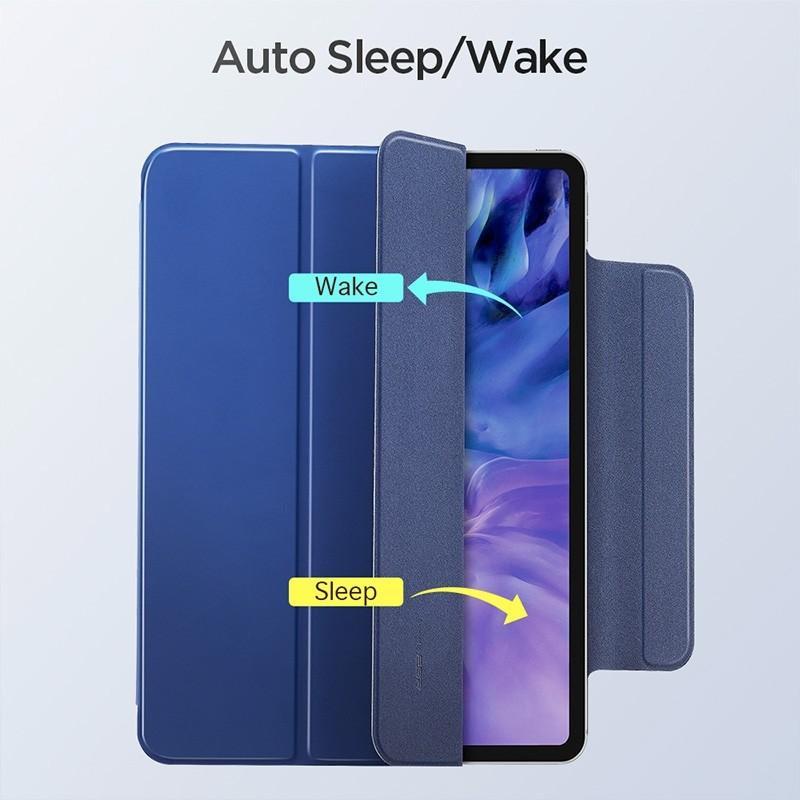 ESR Yippee Magnetic iPad Pro 12.9 inch (2020) blauw - 4