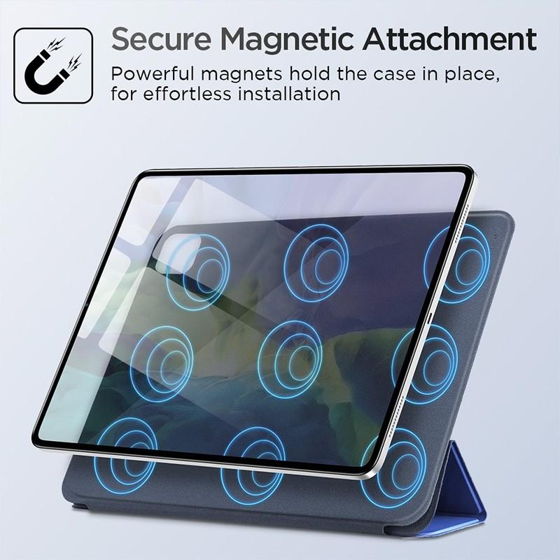 ESR Yippee Magnetic iPad Pro 12.9 inch (2020) blauw - 10