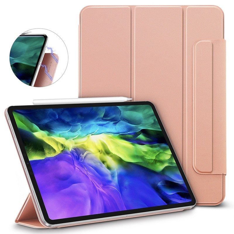 ESR Yippee Magnetic iPad Pro 12.9 inch (2020) roze - 2