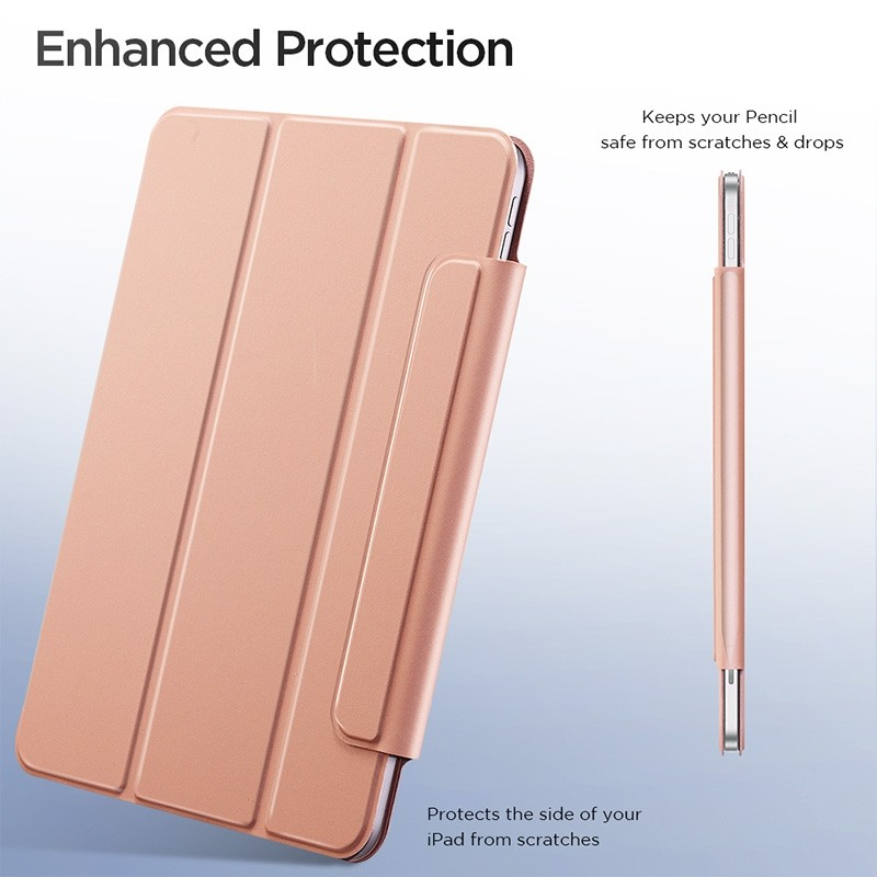 ESR Yippee Magnetic iPad Pro 12.9 inch (2020) roze - 5