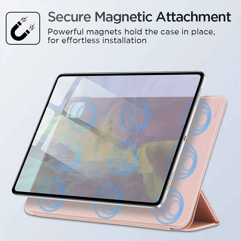 ESR Yippee Magnetic iPad Pro 12.9 inch (2020) roze - 8