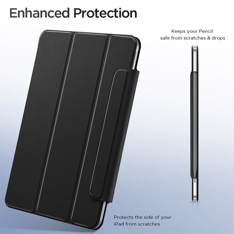 ESR Yippee Magnetic iPad Pro 12.9 inch (2020) zwart - 7