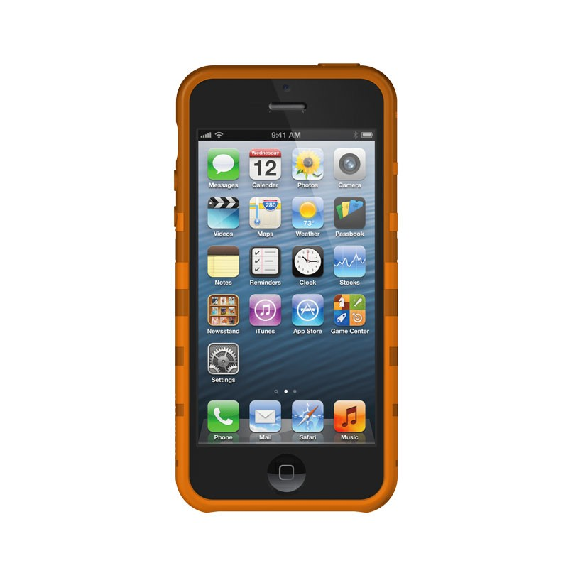 XtremeMac - Tuffwrap iPhone 5 (Orange) 04