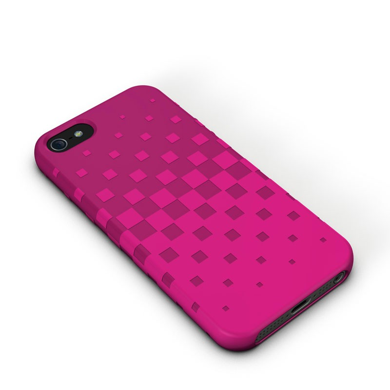 XtremeMac - Tuffwrap iPhone 5 (Pink) 01