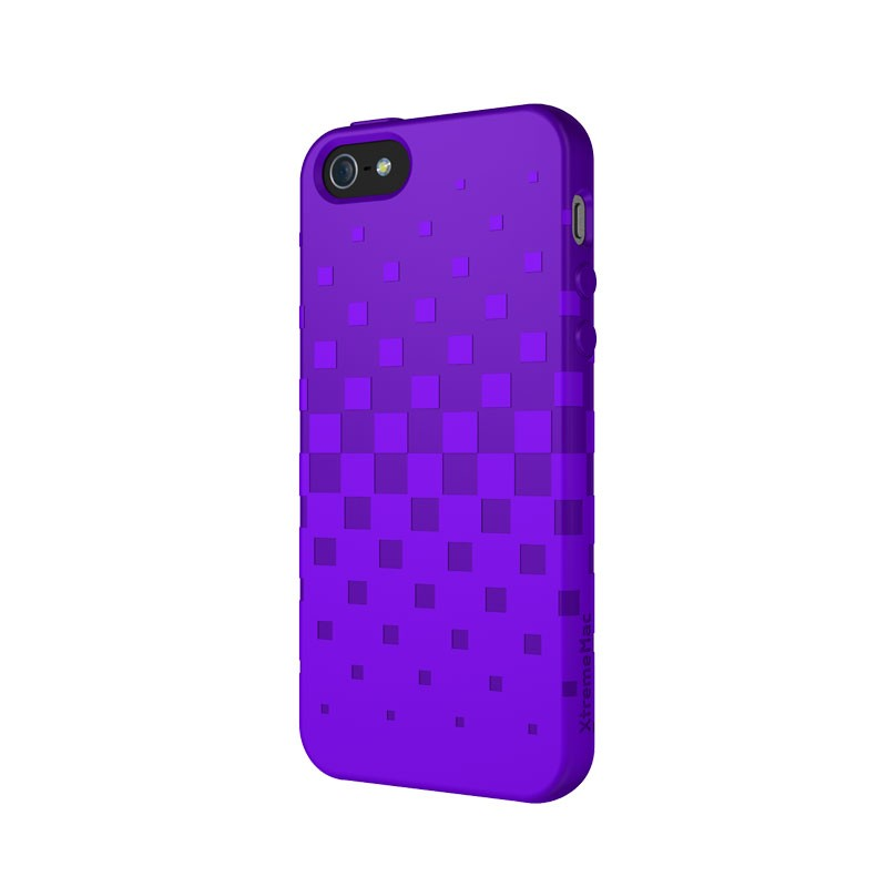 XtremeMac - Tuffwrap iPhone 5 (Purple) 02