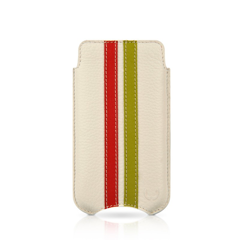 Beyzacases SlimLine Stripes iPhone 4(S) (white/red/green) 02