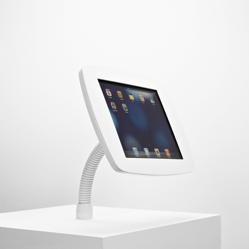 The Bouncepad - Smart, Simple, Secure iPad Stand  -  iPad Gooseneck Mount 02
