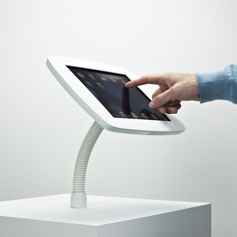 The Bouncepad - Smart, Simple, Secure iPad Stand  -  iPad Gooseneck Mount 04