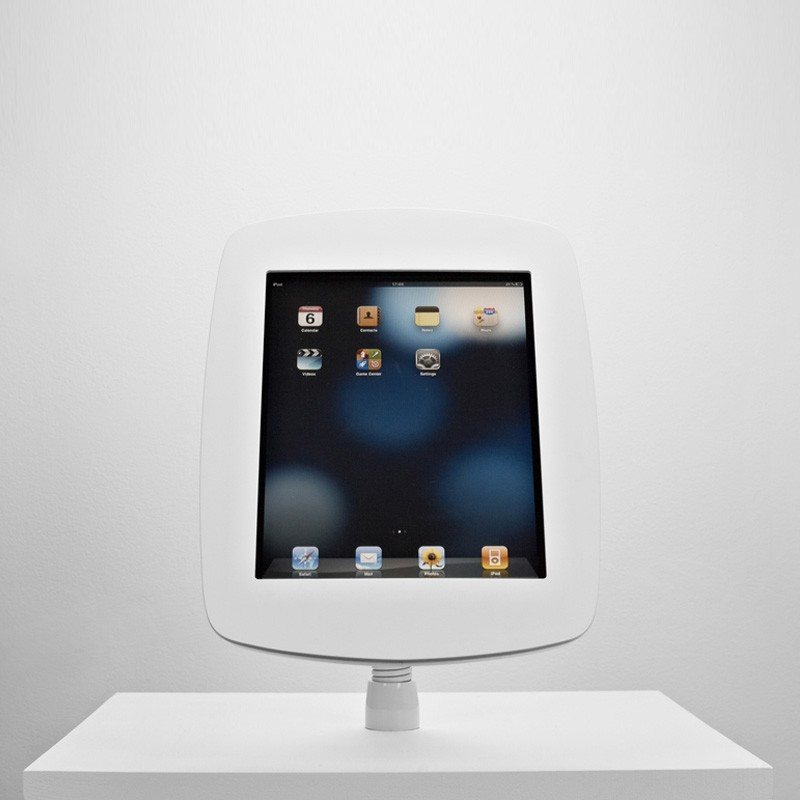 The Bouncepad - Smart, Simple, Secure iPad Stand  -  iPad Gooseneck Mount 08