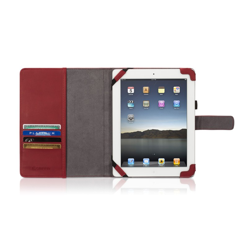 Griffin Elan Passport iPad 2 Red - 3
