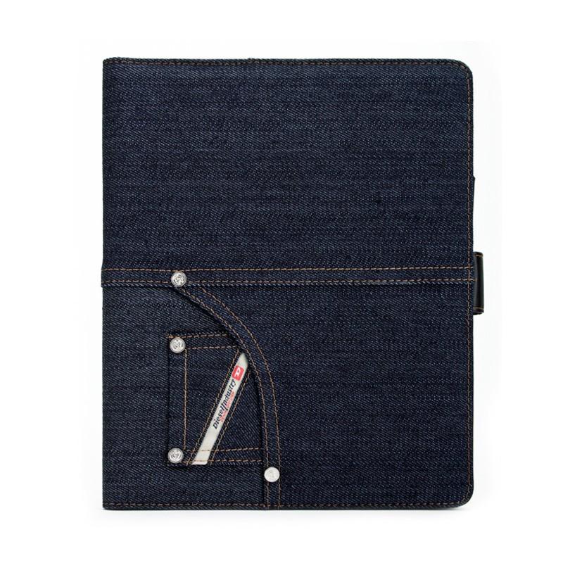 Diesel - Folio Case iPad 2 (Denim Blue Indigo) 01