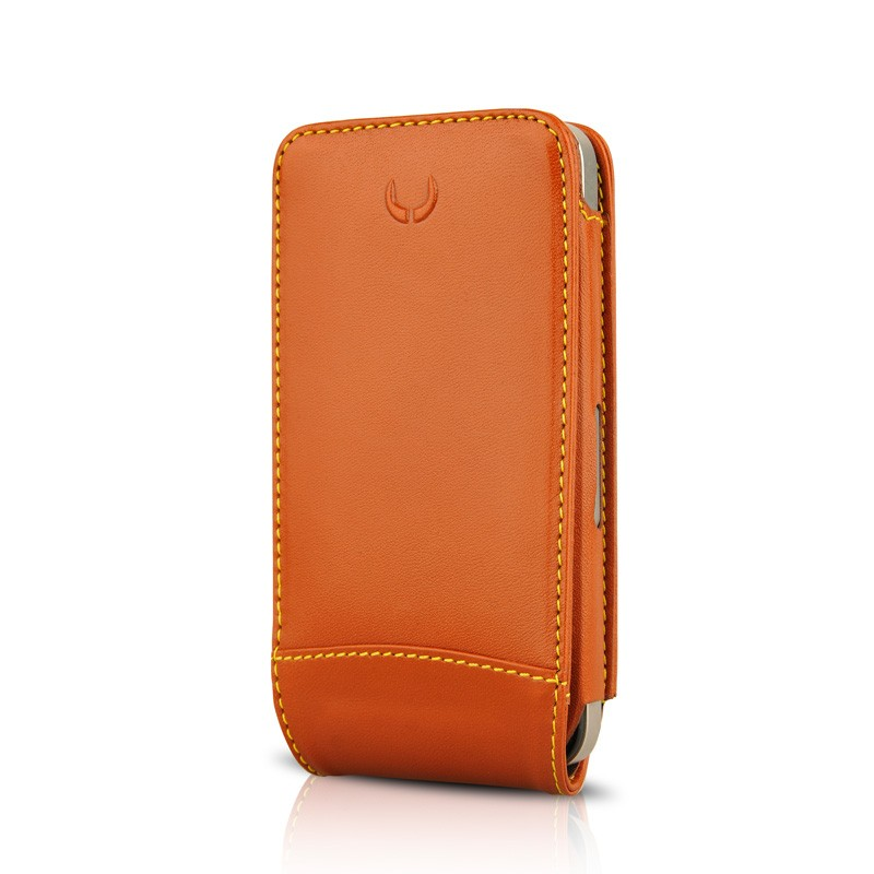 Beyzacases MultiFlip iPhone 4(S) Tan Brown 01