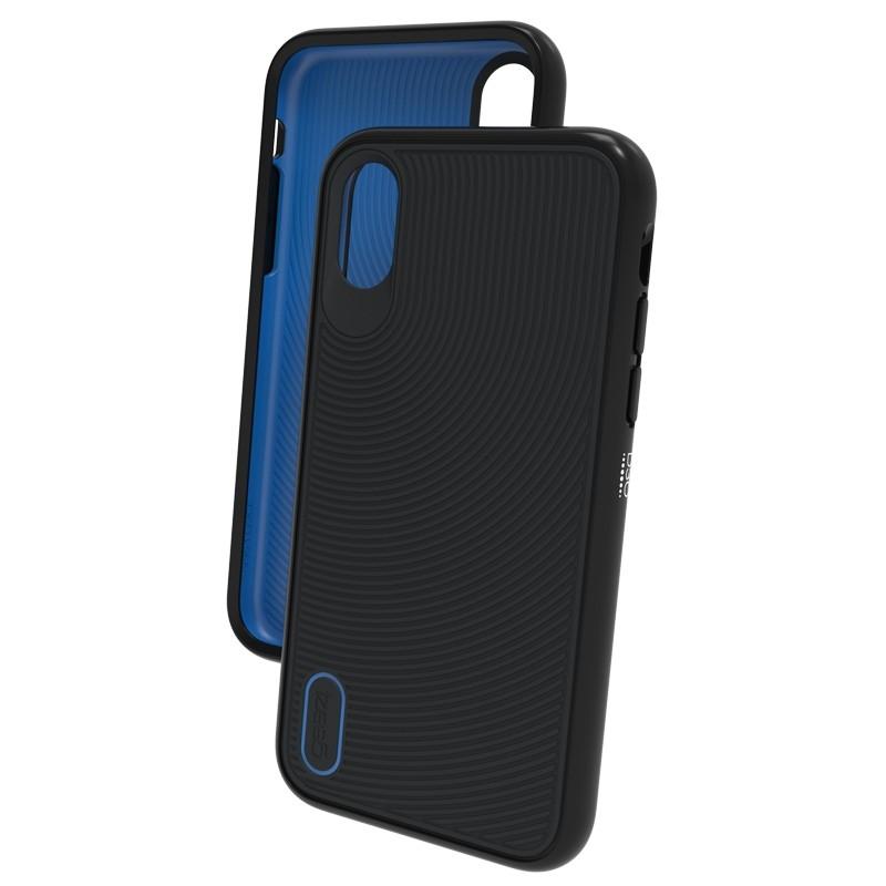 Gear4 Battersea iPhone X/Xs Hoesje Black/Blue 03