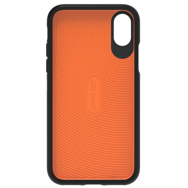 Gear4 Battersea iPhone X/Xs Hoesje Black/Orange 04