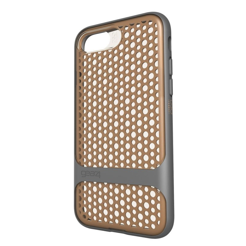 Gear4 Carnaby D3O Case iPhone 7 Gold/Grey - 2