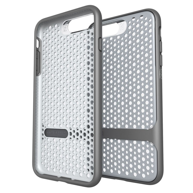 Gear4 Carnaby D3O Case iPhone 7 Plus Silver/Grey - 1