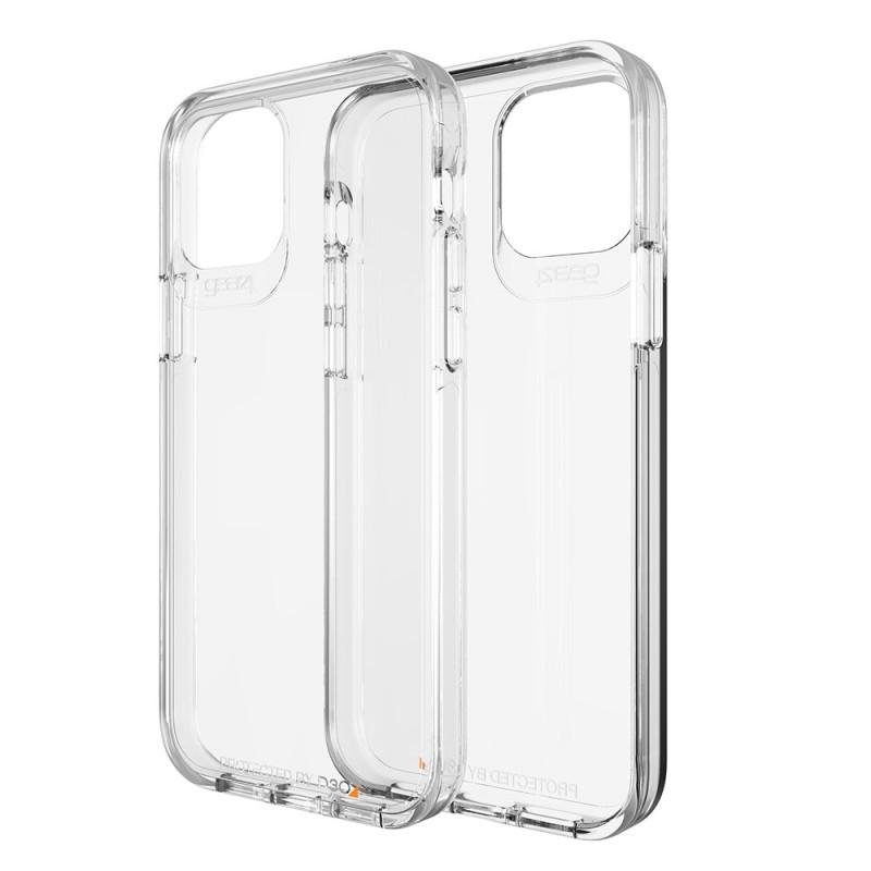 Gear4 Crystal Palace iPhone 12 Mini Transparant - 1