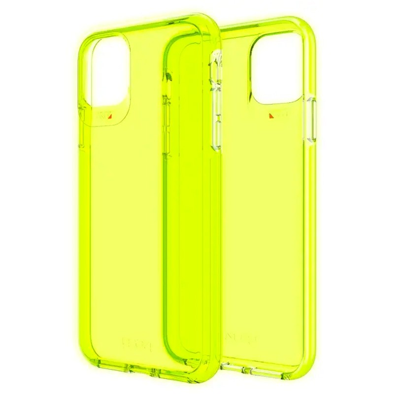 Gear4 Crystal Palace iPhone 11 Pro Neon Geel - 1