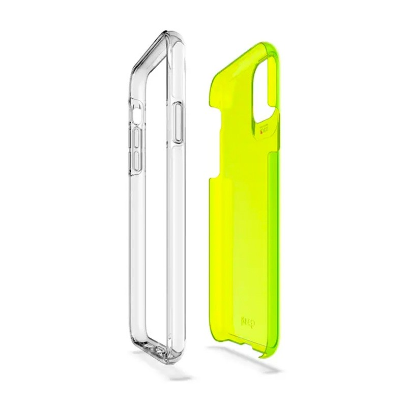 Gear4 Crystal Palace iPhone 11 Pro Neon Geel - 2