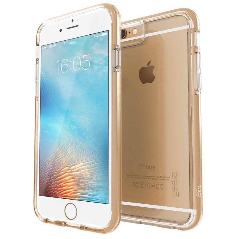 Gear4 3DO IceBox Tone iPhone 6 Plus / 6S Plus Gold/Clear - 1