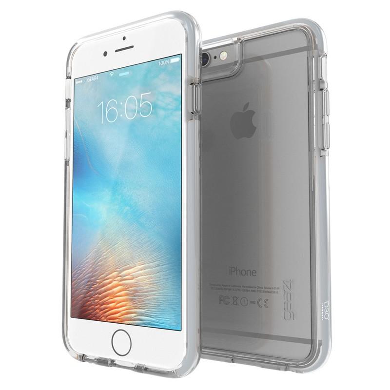 Gear4 3DO IceBox Tone iPhone 6 Plus / 6S Plus Silver/Clear - 1