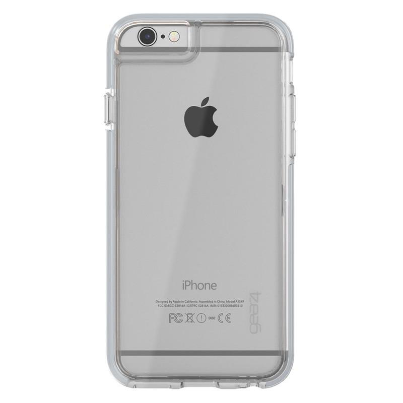 Gear4 3DO IceBox Tone iPhone 6 Plus / 6S Plus Silver/Clear - 3